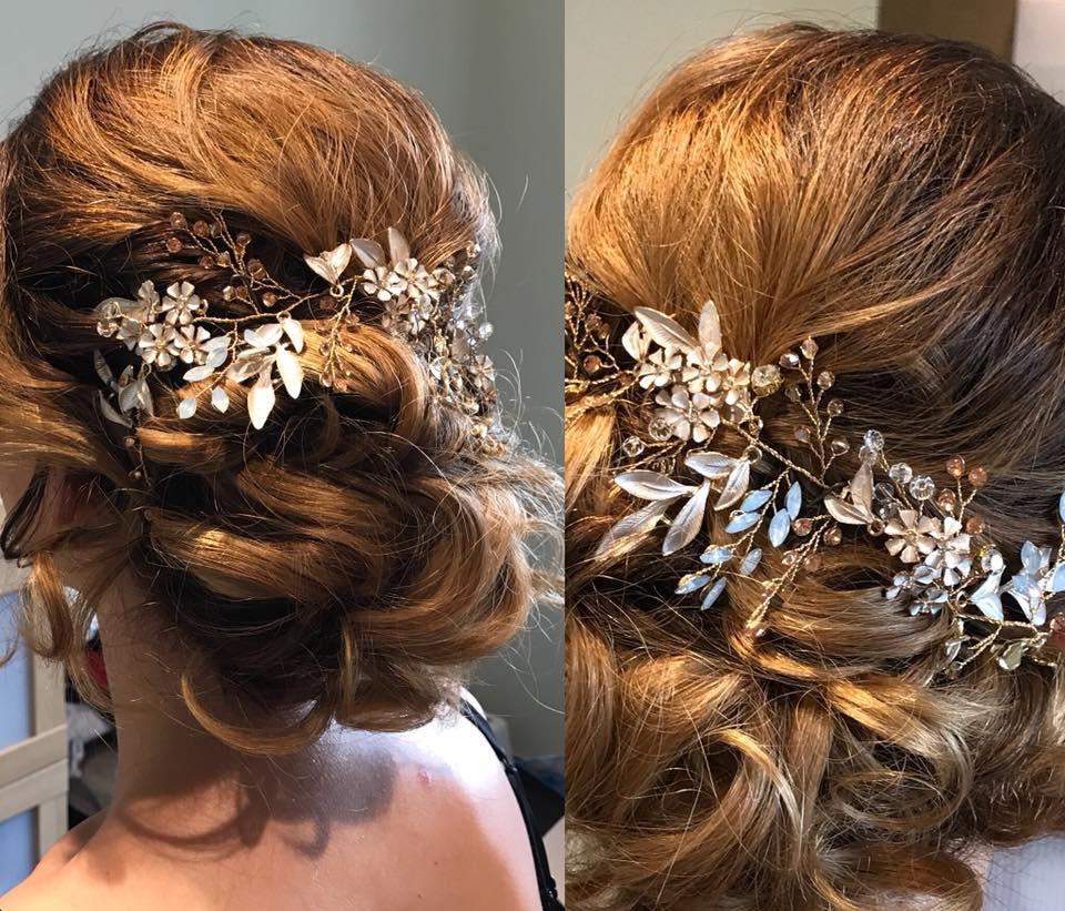 Bijou de cheveu diadème headband de mariage