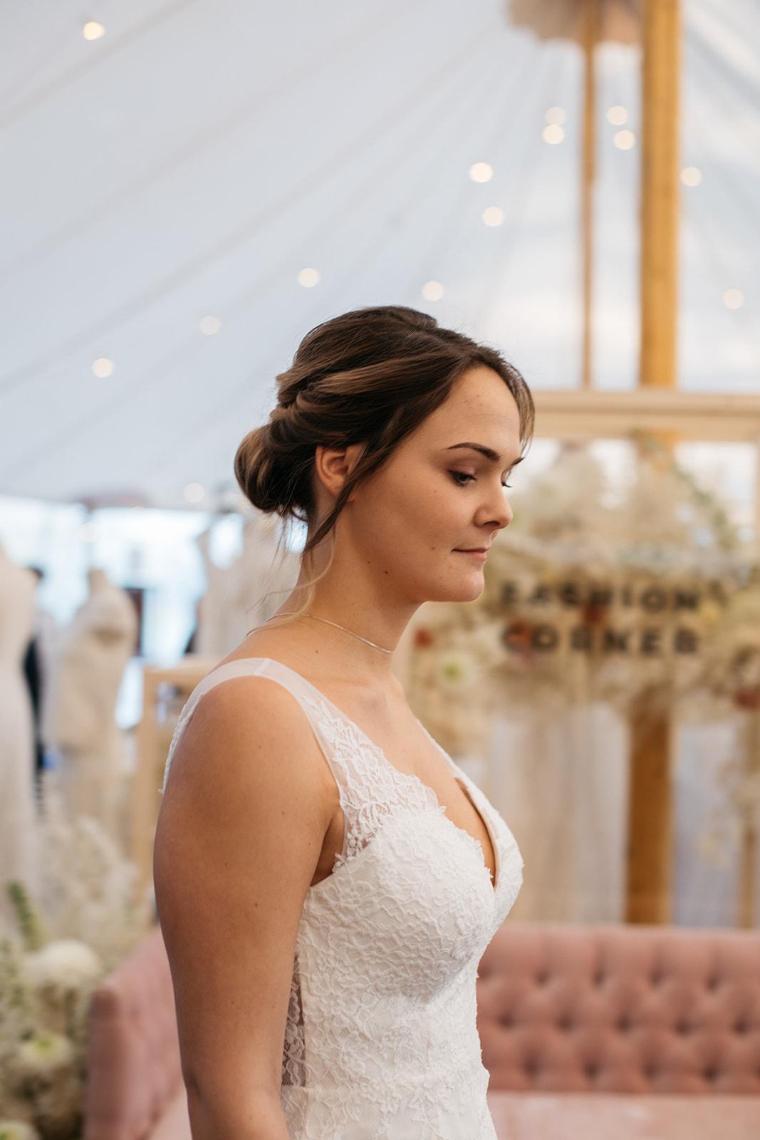 Robe de mariée bohème romantique